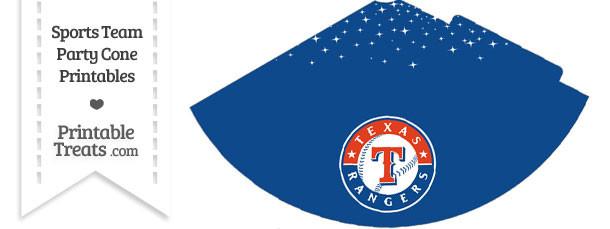 Rangers Party Cone Printable