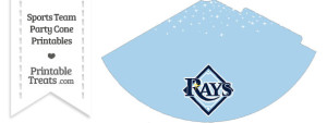 Rays Party Cone Printable