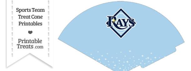 Rays Treat Cone Printable