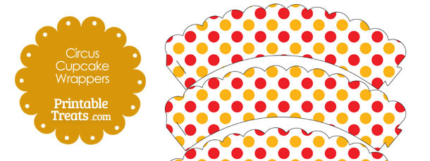 free-red-and-orange-dots-circus-cupcake-wrappers