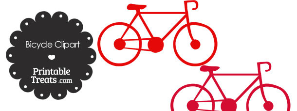 Red Bicycle Clipart