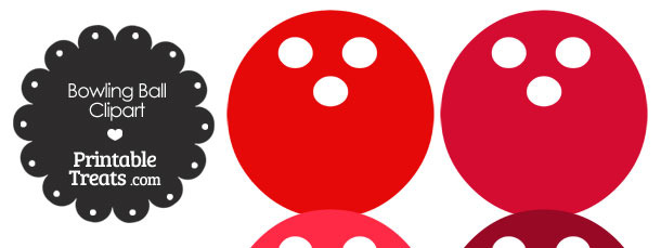 Red Bowling Ball Clipart