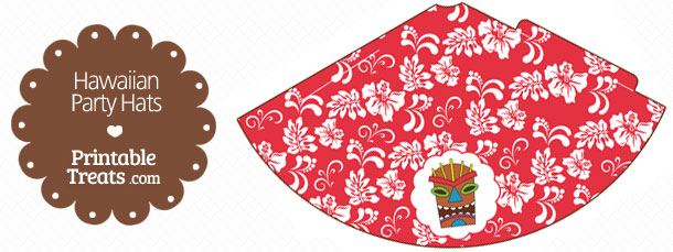free-red-hawaiian-party-hat-printable