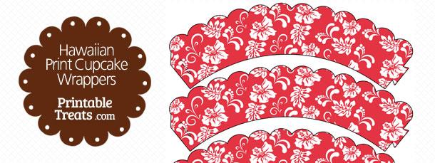 free-red-hawaiian-print-cupcake-wrappers