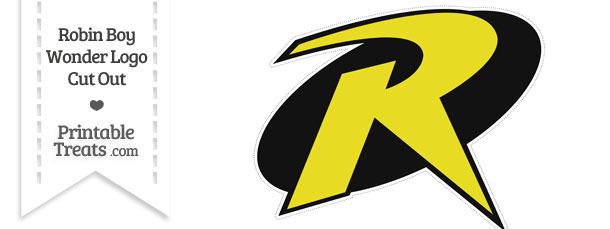 Robin Boy Wonder Logo Cut Out