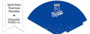 Royals Treat Cone Printable