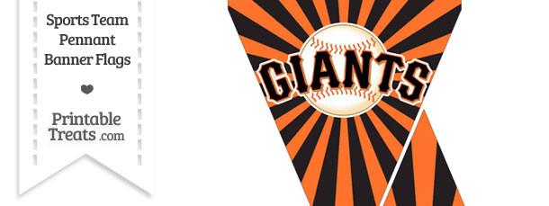 San Francisco Giants Mini Pennant Banner Flags