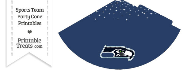 Seahawks Party Cone Printable