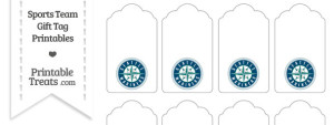 Seattle Mariners Gift Tags