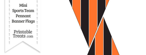 SF Giants Colors Mini Pennant Banner Flags