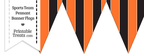 SF Giants Colors Pennant Banner Flag