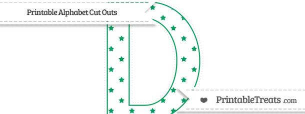 Free Shamrock Green Star Pattern Extra Large Capital ...
