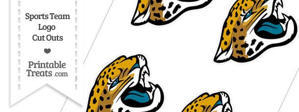 Small Jacksonville Jaguars Logo Cut Outs