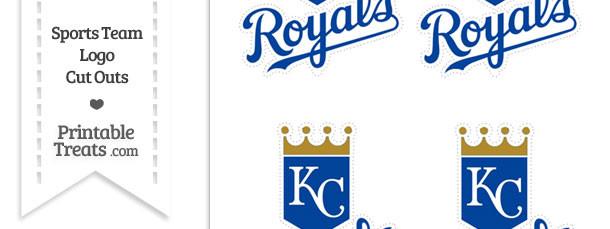 Small Kansas City Royals Logo Cut Outs