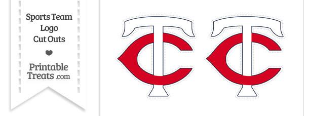 Small Minnesota Twins Logo Cut Outs