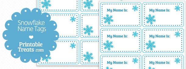 free-snowflake-name-tags