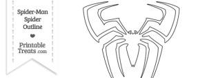 Spider-Man Spider Outline