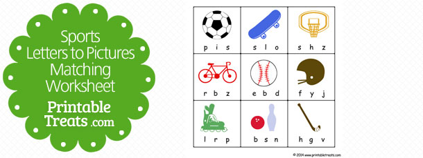 free-sports-letters-to-pictures-matching-worksheet