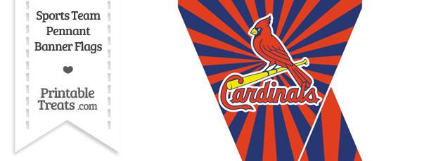 St Louis Cardinals Mini Pennant Banner Flags