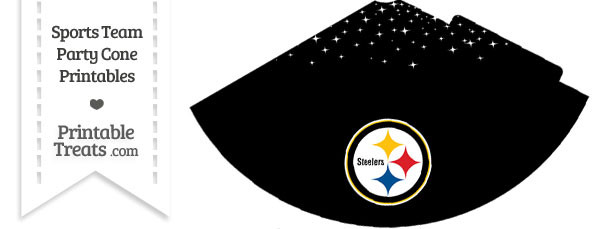 Steelers Party Cone Printable