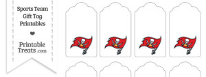 Tampa Bay Buccaneers Gift Tags
