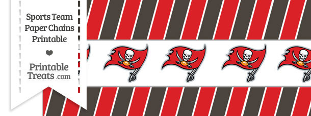 Tampa Bay Buccaneers Paper Chains