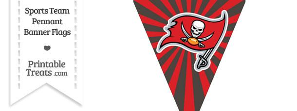 Tampa Bay Buccaneers Pennant Banner Flag