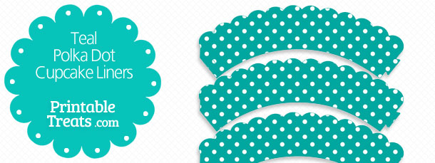 free-teal-polka-dot-cupcake-liners