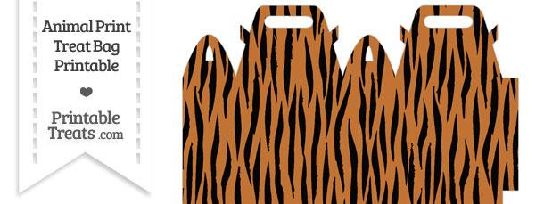 Tiger Print Treat Bag