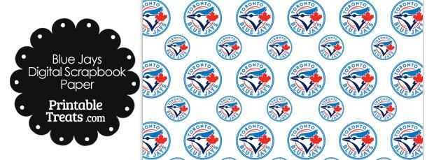 Toronto Blue Jays Baseball Digital Paper
