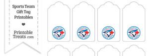 Toronto Blue Jays Gift Tags