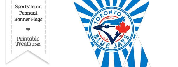 Toronto Blue Jays Mini Pennant Banner Flags