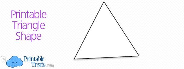 free-triangle-shape-printable