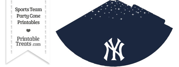 Yankees Party Cone Printable