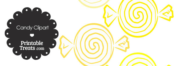 Yellow Candy Clipart