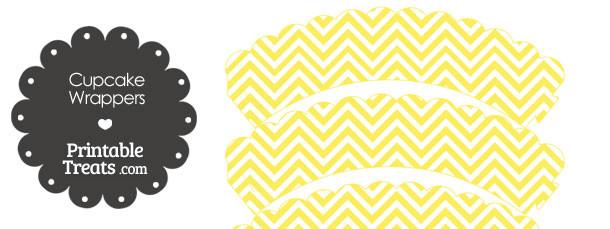 free-yellow-chevron-cupcake-wrappers
