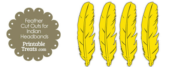 free-yellow-feather-cut-outs-for-indian-headbands