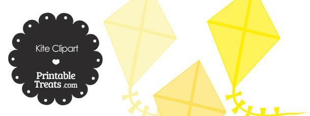 Yellow Kite Clipart