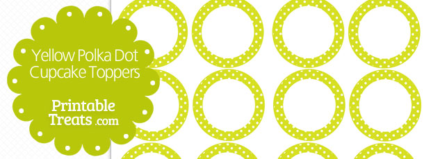 free-yellow-polka-dot-cupcake-toppers