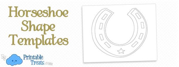 horseshoe-shape-templates
