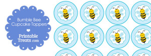 printable-bumble-bee-cupcake-toppers