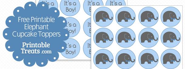 printable-elephant-cupcake-toppers