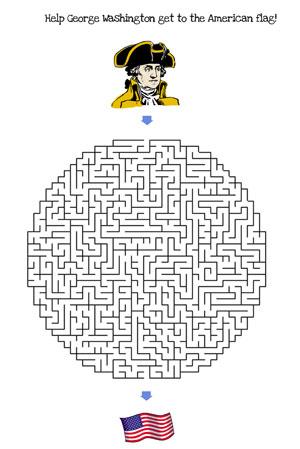 4th of july maze hard
