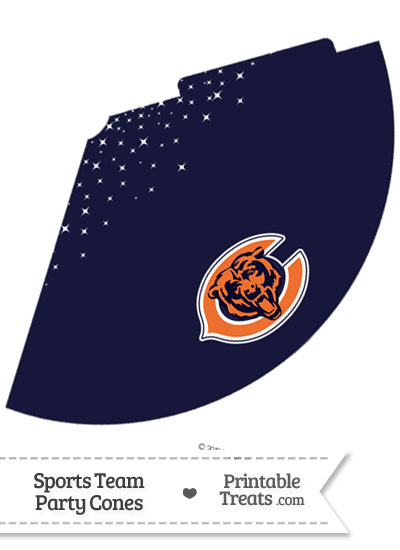 Bears Party Cone Printable from PrintableTreats.com