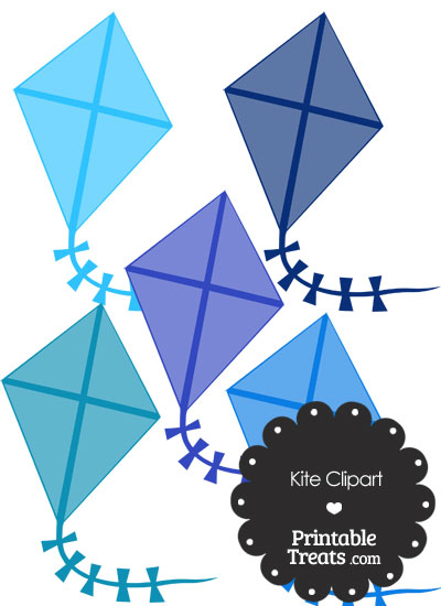 Blue Clipart from PrintableTreats.com