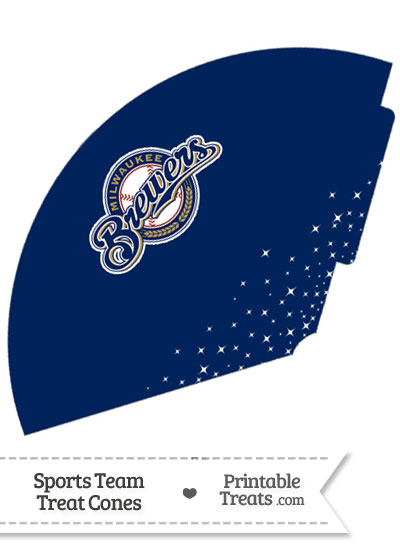 Brewers Treat Cone Printable from PrintableTreats.com