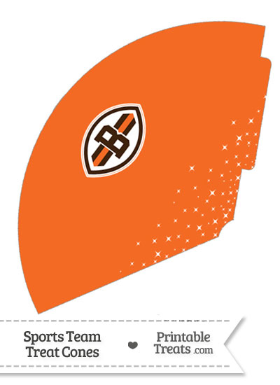 Browns Treat Cone Printable from PrintableTreats.com