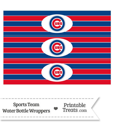 It's just an image of Printable Chicago Cubs Logo with coloring