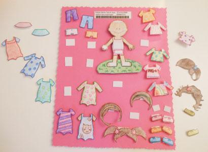 child sponsorship gift ideas paper doll