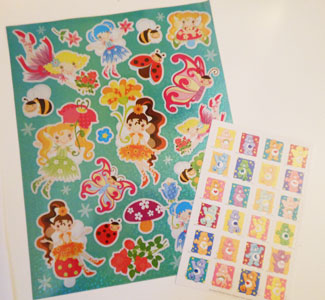 child sponsorship gift ideas stickers